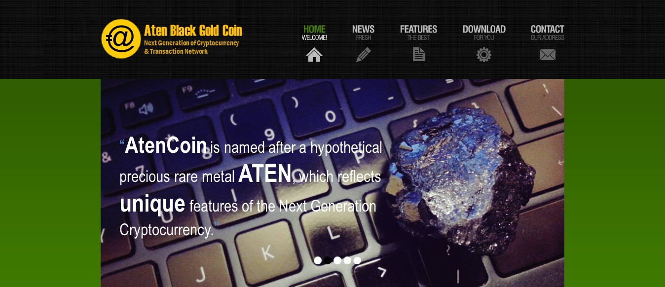 AtenCoin Screenshot