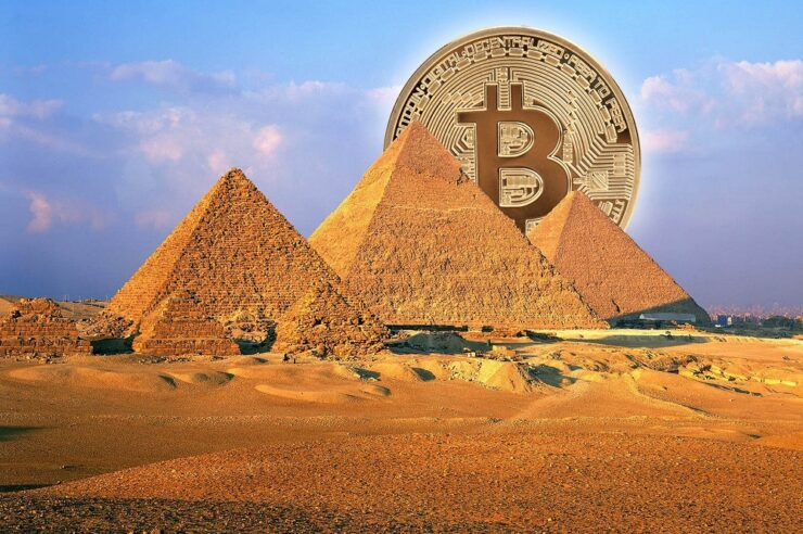 Egypt sees uptick in BTC in the middle of an economic turndown